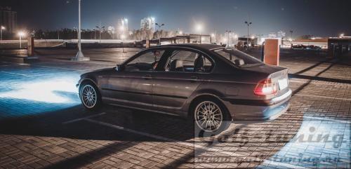 передние фары на BMW e46 coupe