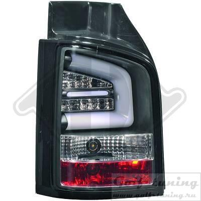 VW T5 GP 09-15 Фонари Lightbar design черные