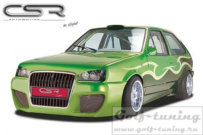 VW Polo 2 Typ 86C 2F 90-94 Бампер передний SF-Line design