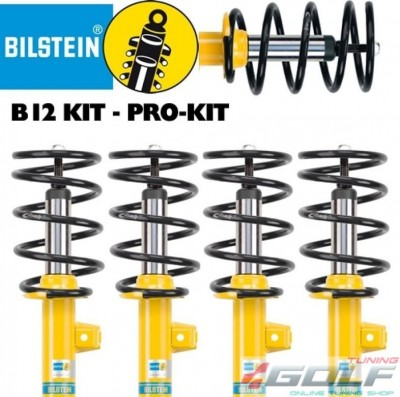 Audi A3 (8V1/8VS)/Seat Leon (5F1/5F5)/VW Golf 7(5G1) 12- Комплект подвески Eibach Pro-Kit B12 с занижением -35мм
