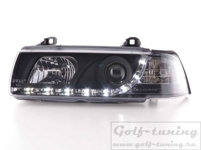 BMW E36 4Дв Фары Devil eyes, Dayline черные