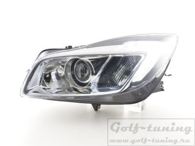 Opel Insignia 08-13 Фары Devil eyes, Dayline хром