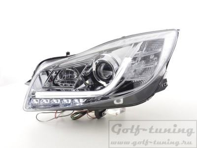 Opel Insignia 08-13 Фары Lightbar Design хром