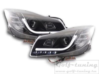 Opel Insignia 08-13 Фары Lightbar Design черные