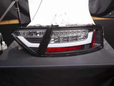 Audi A5 07-11 Фонари lightbar design черные