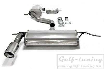 VW Golf 5/6/ Audi A3 8P Catback выхлоп 1x100mm