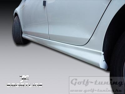 VW Golf 6 Пороги Votex Design