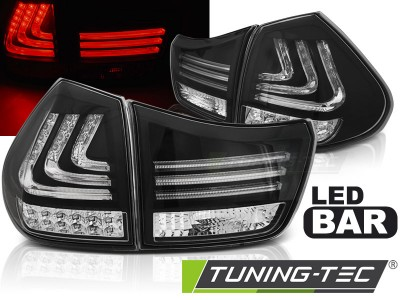 Lexus RX 330/350 03-08 фонари lightbar design черные