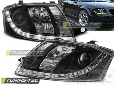 Audi TT 99-05 Фары Devil eyes, Dayline черные