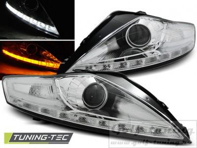 Ford Mondeo 07-10 Фары Devil eyes, Dayline хром