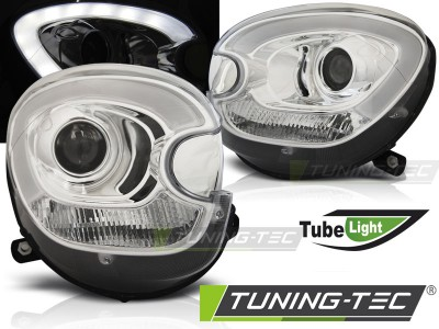 Mini Coopper R60 Countryman 10-14 Фары tube light хром