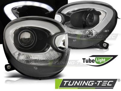 Mini Coopper R60 Countryman 10-14 Фары tube light черные