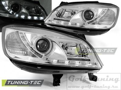 Opel Zafira A 99-05 Фары Devil eyes, Dayline хром