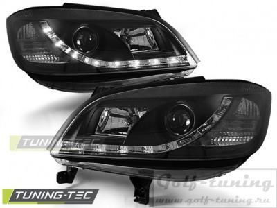 Opel Zafira A 99-05 Фары Devil eyes, Dayline черные