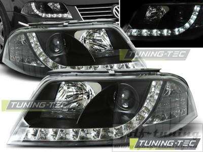 VW Passat B5+ 00-05 Фары Devil eyes, Dayline черные