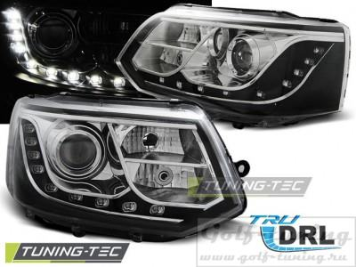 VW T5 GP 10-15 Фары Devil eyes, Dayline