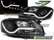 VW Passat B7 Фары Tube lights черные
