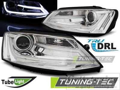 VW Jetta 6 11- Фары Tube lights черные