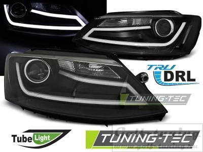VW Jetta 6 11-15 Фары Tube light черные