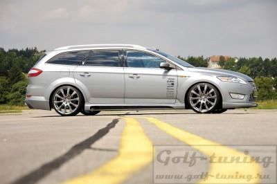 Ford Mondeo BA7 07- Пороги Carbon Look
