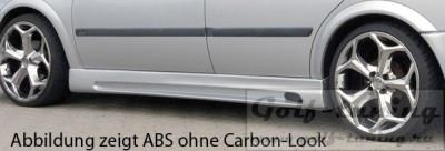 Opel Astra G 3Дв Пороги Carbon Look