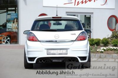Opel Astra H 5D �������� �� ������ ������ Carbon Look