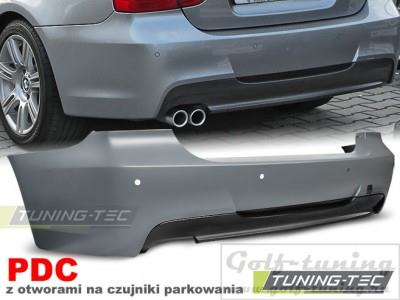 BMW E90 08-11 Бампер задний M-Technik Look +PDC