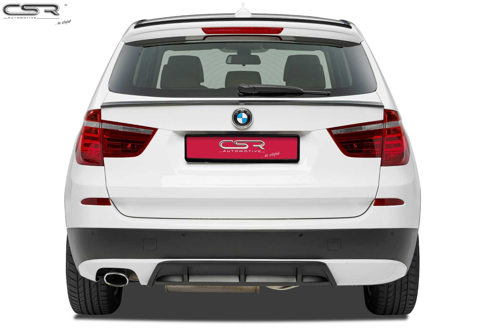BMW X3 F25 10- Lip спойлер на крышку багажника Carbon-Look ...