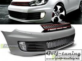 VW Golf 6 Бампер передний GTI Style