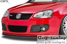 VW Golf 5 GTI Накладка на передний бампер Cupspoilerlippe
