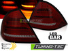 MERCEDES W203 Седан 00-04 Фонари led bar design красно-тонированные с бегающим поворотником
