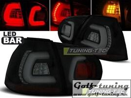 VW Golf 5 Фонари светодиодные, черно-тонированные Lightbar
