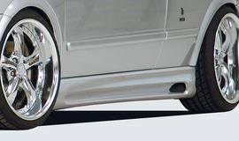 Opel Astra G Купе/кабрио Накладки на пороги