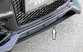 Audi A5/S5 11-16 Купе/Кабрио Накладка нижняя для переднего бампера 00055460/61/62/63 carbon look