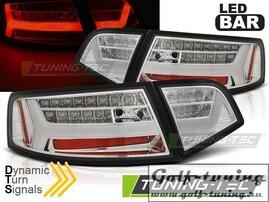Audi A6 4F 08-11 Седан Фонари светодиодные Led bar design хром