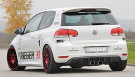 VW Golf 6/+GTI+GTD Накладки на пороги
