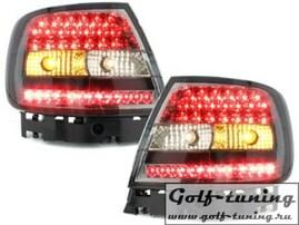 Audi A4 B5 95-00 Седан Фонари светодиодные, тонированные