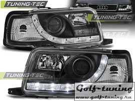 Audi 80 B4 91-96 Фары DAYLIGHT черные