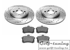 Audi 100 Комплект спортивных тормозных дисков и колодок