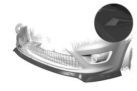 Ford Focus MK2 ST 07-10 Накладка на передний бампер