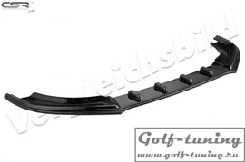 BMW F32/F33/F36 M-Paket 13- Накладка на передний бампер Cupspoilerlippe глянцевая