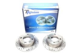 Citroen Xantia / Xantia Break Комплект спортивных тормозных дисков