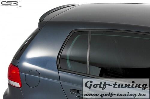 VW Golf 6 Lip Спойлер на крышку багажника