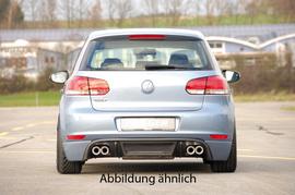 VW Golf 6 Накладка на задний бампер