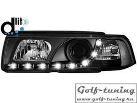 BMW E36 Купе/кабрио Фары Devil eyes, Dayline черные