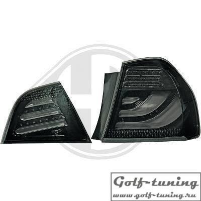 BMW E90 08-11 Седан Фонари светодиодные, тонированные Lighbar design
