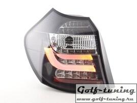 BMW E87 07-11 Фонари светодиодные, черные Lightbar design