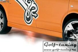 VW Bus T5 03-15 Накладки на пороги CI-Look