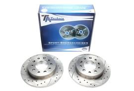 Hyundai Coupe Комплект спортивных тормозных дисков