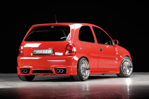 Opel Corsa B Спойлер на крышку багажника
